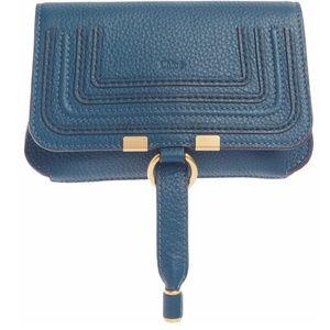 New Chloé Marcie Convertible Belt Bag in Navy Ink!